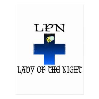LPN-Señora de la noche Postales