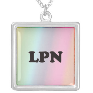 LPN SILVER PLATED NECKLACE