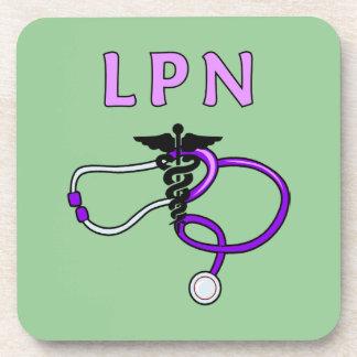LPN Stethoscope Drink Coaster