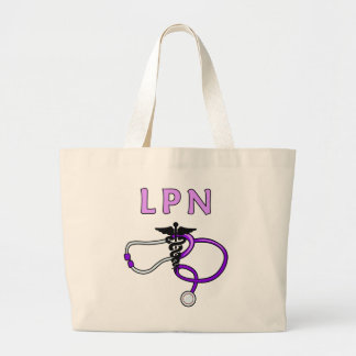 LPN Stethoscope Large Tote Bag