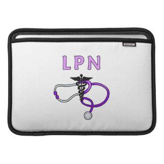 LPN Stethoscope MacBook Air Sleeve