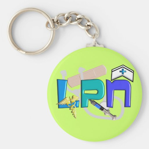 LPN  T-shirts and Gifts Key Chain