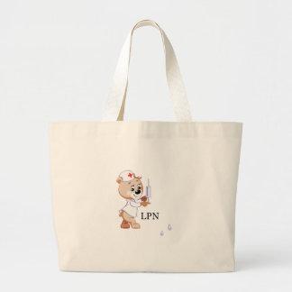 LPN Teddy Bear Tote Bags