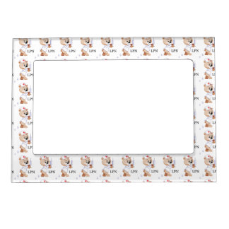 LPN Teddy Bear Magnetic Frame