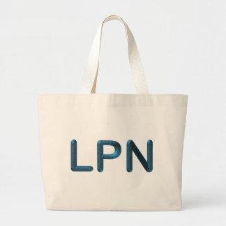 LPN texturizado azul Bolsa