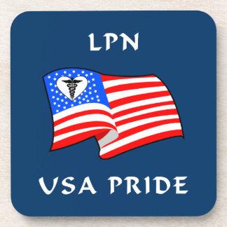 LPN USA Pride Coasters
