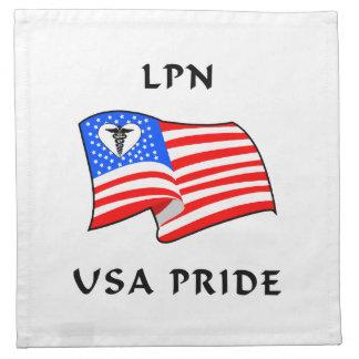 LPN USA Pride Printed Napkins