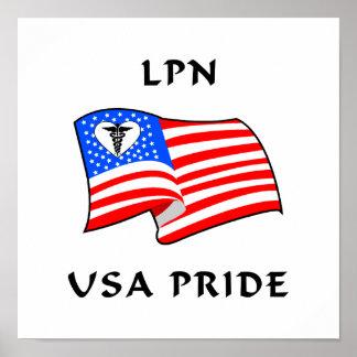 LPN USA Pride Print