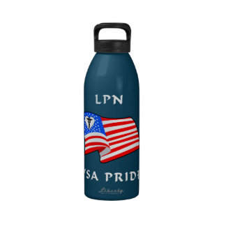 LPN USA Pride Drinking Bottles