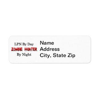 LPN/Zombie Hunter Label