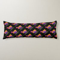 """Lps-Achievables"" Theme patterned Body-Pillow Body Pillow"