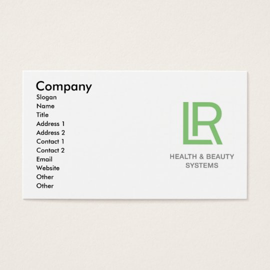 LR business card