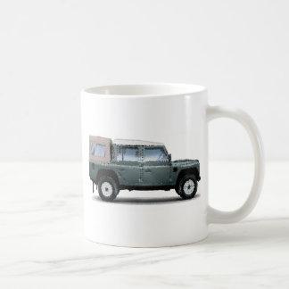 LR Defender 110 Doublecab cracked Coffee Mug