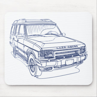 LR Discovery gen1 1988-98 Mouse Pad