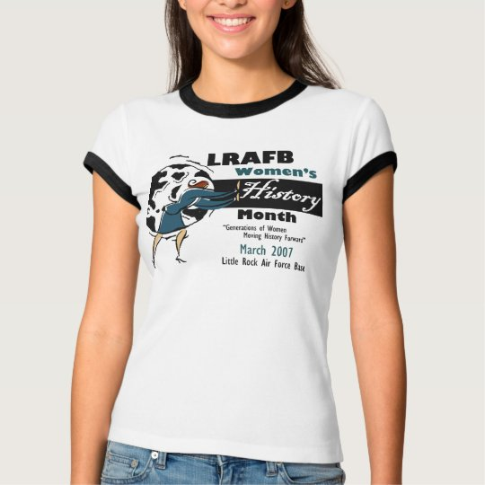 LRAFB Womens History Month 2007 T-Shirt