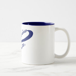 LRC: Blue Baseball Logo Mug