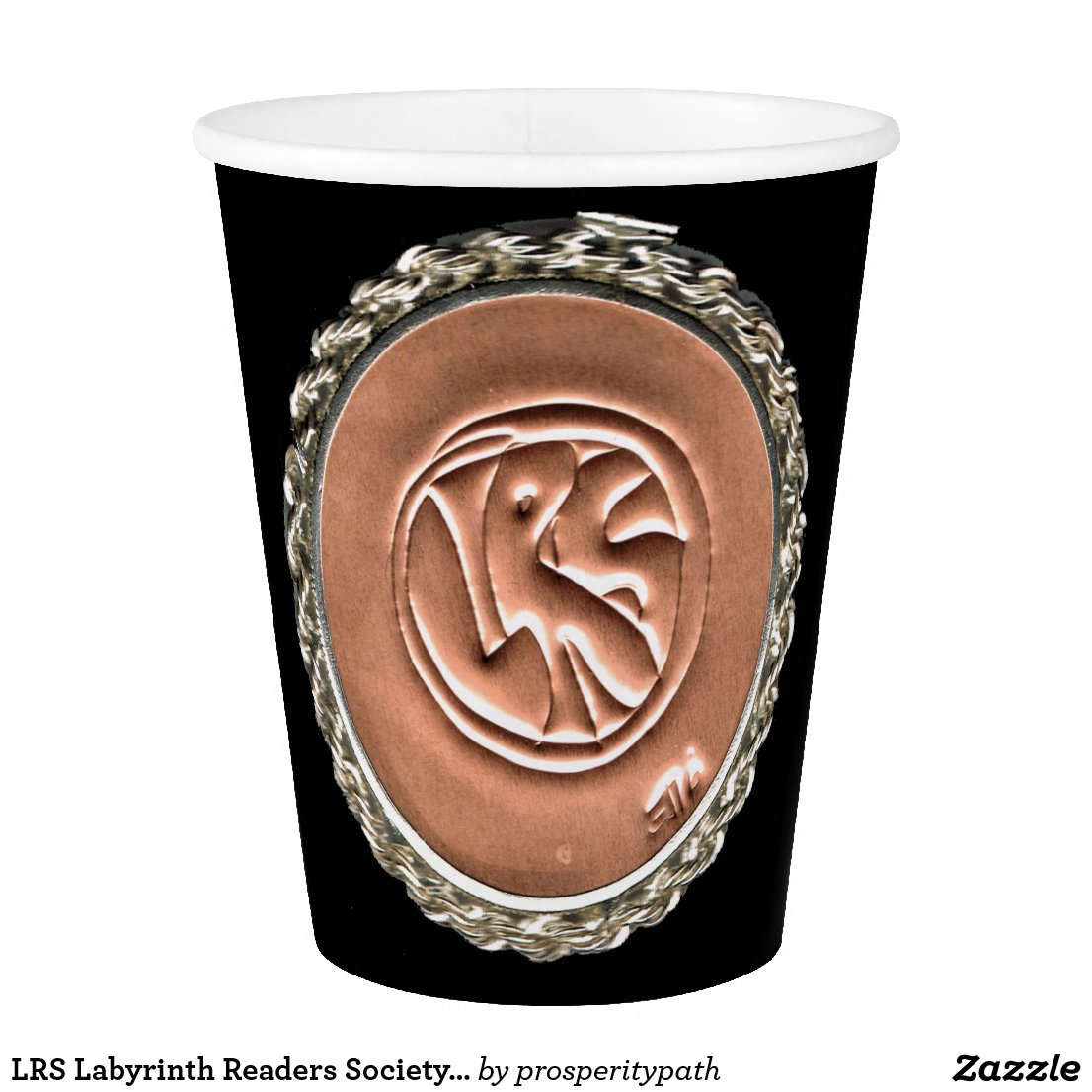 LRS Labyrinth Readers Society Paper Cup