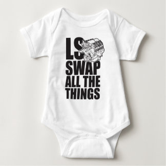 LS All The Things Baby Bodysuit