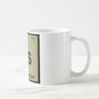Ls - Símbolo de la tabla periódica de la química Taza De Café