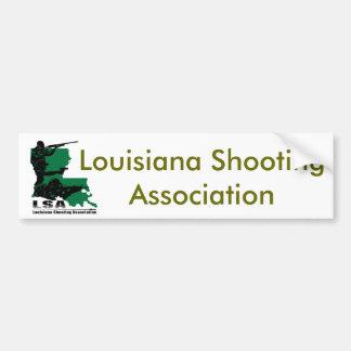 LSA Logo, Louisiana Shooting Association Bumper Sticker