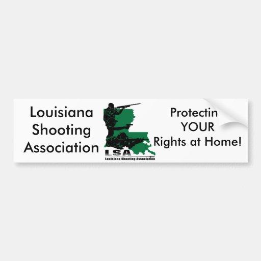 LSA Your Rights Bumper Sticker Car Bumper Sticker