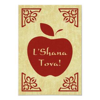 L'Shana Tova : elegant apple Card
