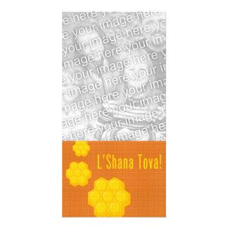 L'Shana Tova Honeycombs Card