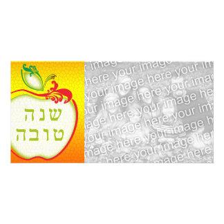 L'Shana Tova: tarjeta de la foto del panal de la Tarjetas Personales Con Fotos