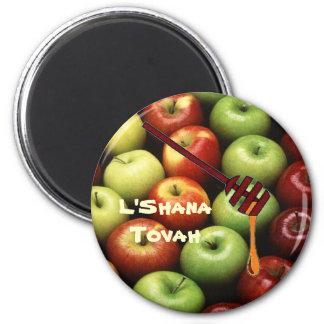 L'Shana Tovah Imán Redondo 5 Cm