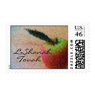L'Shanah Tovah Apple Stamp
