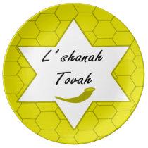 L'shanah Tovah Porcelain Plate