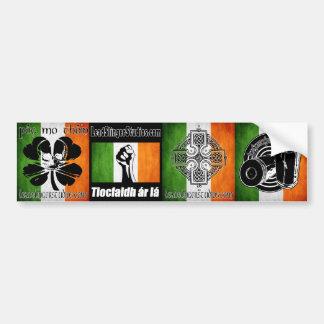 LSS Irish 4 Bumperstickers Car Bumper Sticker