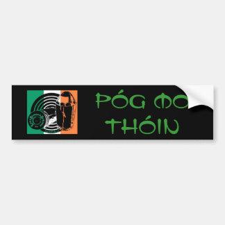 LSS Póg Mo Thóin bumper sticker Car Bumper Sticker