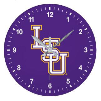 LSU | Baseball Large Clock