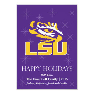 LSU Eye of the Tiger Card