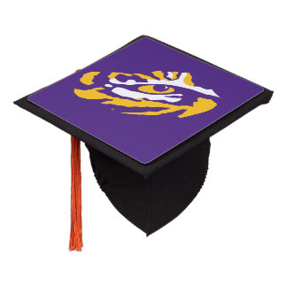 LSU Eye of the Tiger Graduation Cap Topper