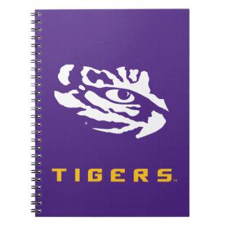 LSU   Eye Of The Tiger Notebook