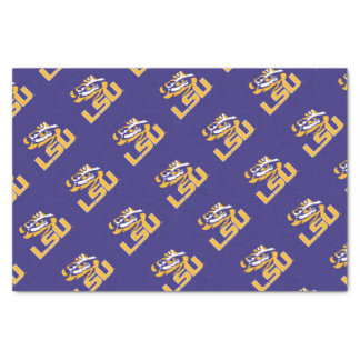 LSU Eye of the Tiger Tissue Paper