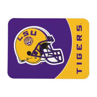 LSU Football Helmet Magnet