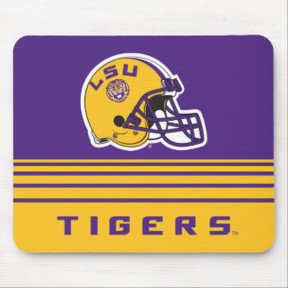 LSU Football Helmet Mouse Pad