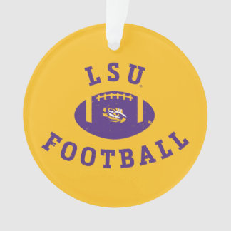 LSU Football   Louisiana State 4 Ornament