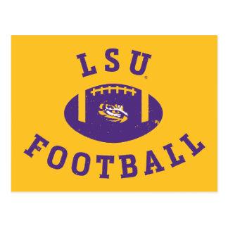 LSU Football   Louisiana State 4 Postcard