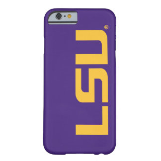 LSU Gold Logo Barely There iPhone 6 Case