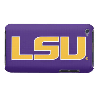 LSU Gold & White Logo iPod Case-Mate Cases