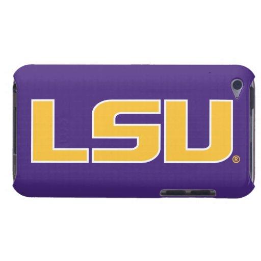 LSU Gold & White Logo iPod Case-Mate Cases