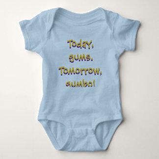 LSU Gumbo Baby Design (Blue) Baby Bodysuit