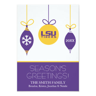 LSU Holiday Card