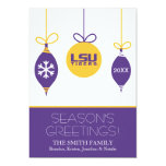 LSU Holiday Card with Year