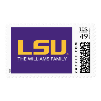 LSU Logo 2 Postage