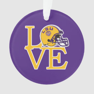 LSU Love Ornament